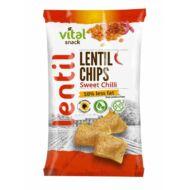 VitalSnack lencse chips édes csili ízű 65g