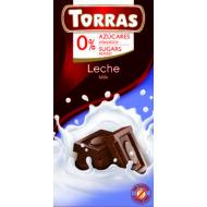 Tejcsokoládé hozáadott cukor nélkül 75 g