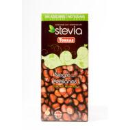 Stevia Mogyorós étcsoki hozzáadott cukor nélkül, édesítőszerel125 g