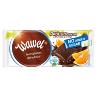 No added Sugar Dark with Orange étcsokoládé Naranccsal	100 g
