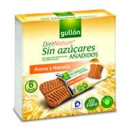 Gullon Snack zabos, narancsos keksz cukormentes144 g