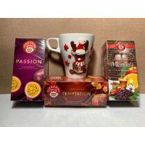 Három darabos tea csomag választható ízekkel