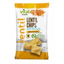 VitalSnack lencse chips tengeri sóval 65g