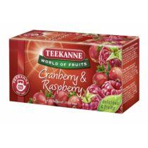 WOF RED BERRIES vörösáfonya-málna ízű gyüm. tea45 g