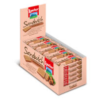 Loacker wafer sandwich mogyorós 	25g
