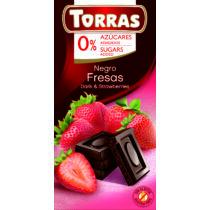 Epres étcsokoládé hozáadott cukor nélkül75 g