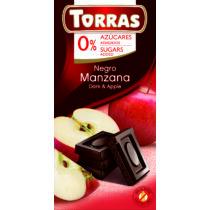Almás étcsokoládé hozzáadott cukor nélkül75 g