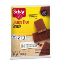 Schär SNACK csokoládéval bevont mogyorós ostya gluténmentes105g