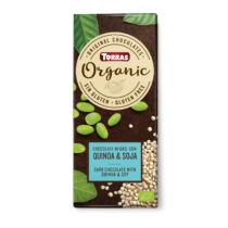 Szójás és quinoás étcsokoládé100 g