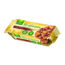 Gullon Chip Choco Cookies - csokidarabos cukormentes keksz125 g
