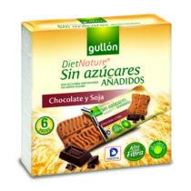 Gullon Snack csokis  keksz cukormentes 144 g