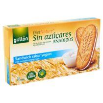 Gullon Joghurtos reggeli szendvicskeksz cukormentes  220 g