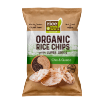 Barna rizs chips Chia magos&quinoás puffasztott szelet25 g