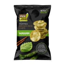 Rice Up Chips wasabi ízű	60 g