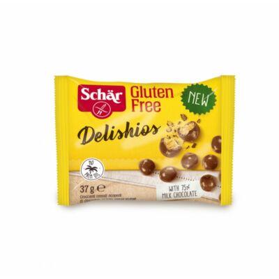 Schär Delishios csokis gabonagolyó gluténmentes 37 g