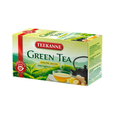 Green tea ginger lemon gyömbér citromos zöld35 g