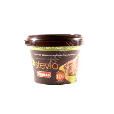 Stevia Mogyorókrém hozzáadott cukor nélkül, édesítőszerrel 200 g