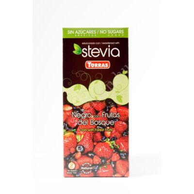 Stevia Erdei gyüm étcs hozáadott cukor nélkül125 g