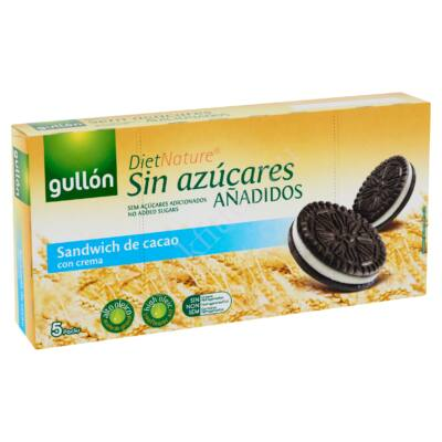 Gullon Kakaós keksz krém töltelékkel (cuk ment. oreo) 210 g