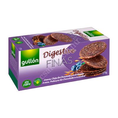 Gullon Digestive THINS áfonyás keksz 270 g