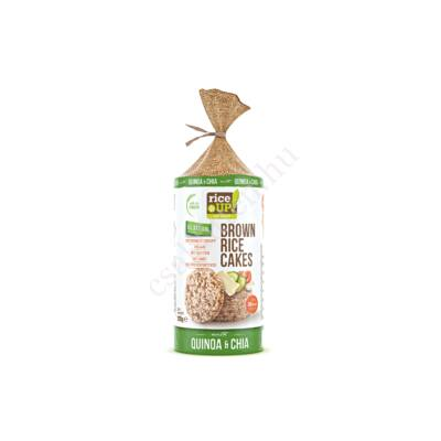 Barna rizses Chia magos&quinoás puffasztott szelet120 g