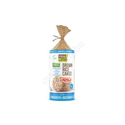 Barna rizses hajdinás&amarántos puffasztott szelet 120 g