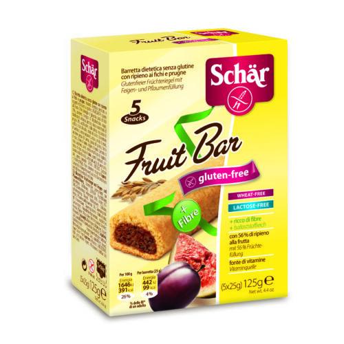 Schär Fruit bar 125 g 5x25g