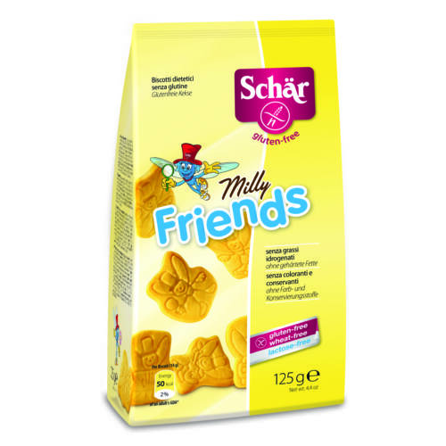 Schär Milly Friends kekszek	125 g