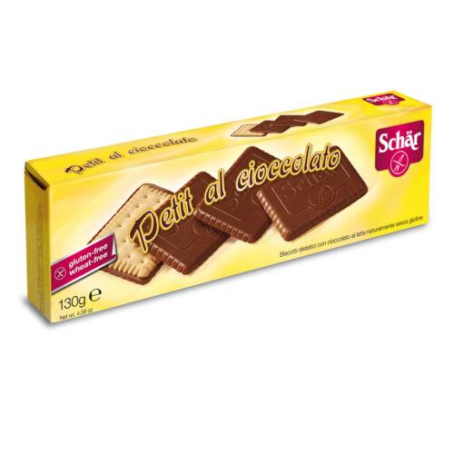Schär Petit Chocolate csokis keksz 130g