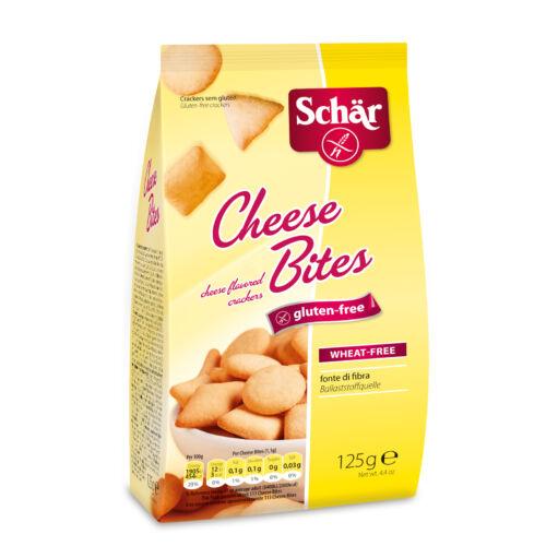 Schär CHEESE BITES - Sajtos kracker  125 g