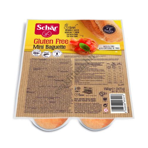 Schär Mini bagett Duo