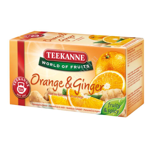 WOF Orange Ginger narancsos gyömbéres  gy.tea 35 g