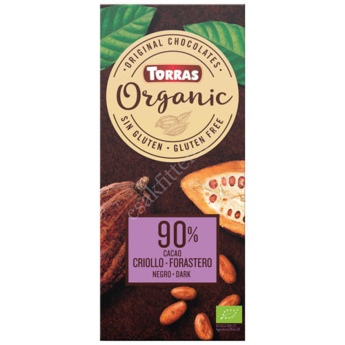 90%-os étcsokolád100 g