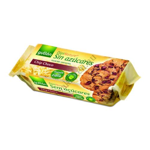 Gullon Chip Choco Cookies - csokidarabos keksz125 g