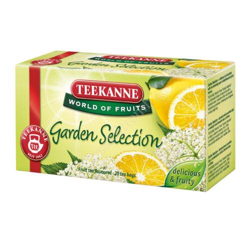 WOF GARDEN SELECTION bodzavirág-citromos gy.tea 45 g