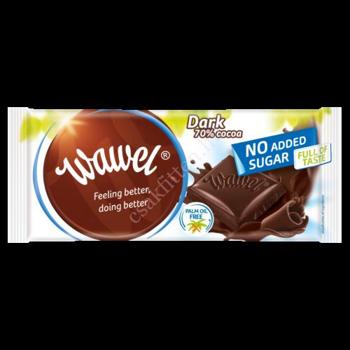 No added Sugar étcsokoládé 70%100g