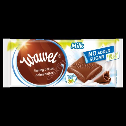 No added Sugar tejcsokoládé 100g