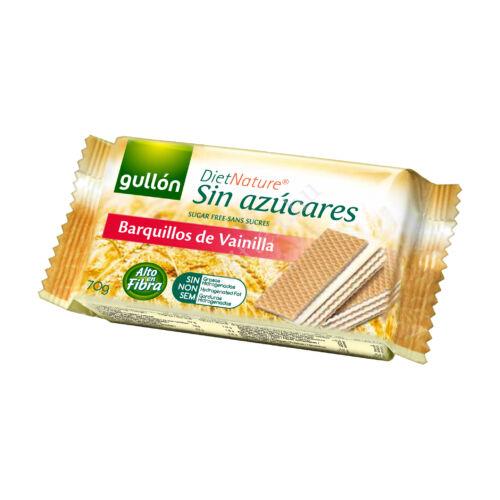 Gullon Barquillos Vainilla/ cukormentes vaniliás nápolyi 70g