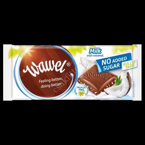 No added Sugar Milk with Coconut tejcsokoládé Kókusszal100 g