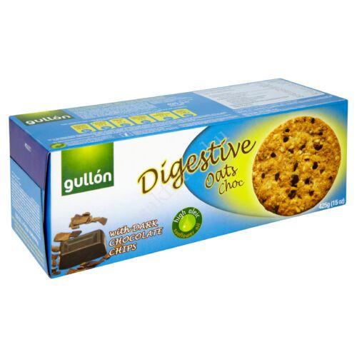 Gullon Digestiva zabpelyhes korpás keksz étcsokival425 g