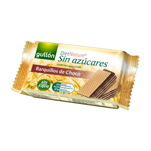 Gullon Barquillos Cocoa/ cukormentes kakaós nápolyi 70g