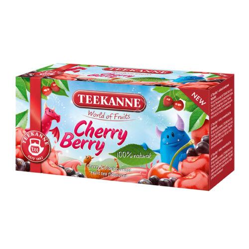 WOF Cherry Berry cser és fekete ribizli ízesítésű gy.tea45 g