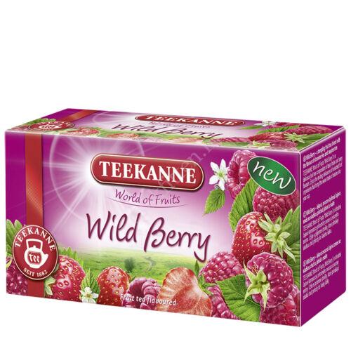 WOF Wild Berry eper és málna ízű gyümölcstea 40 g