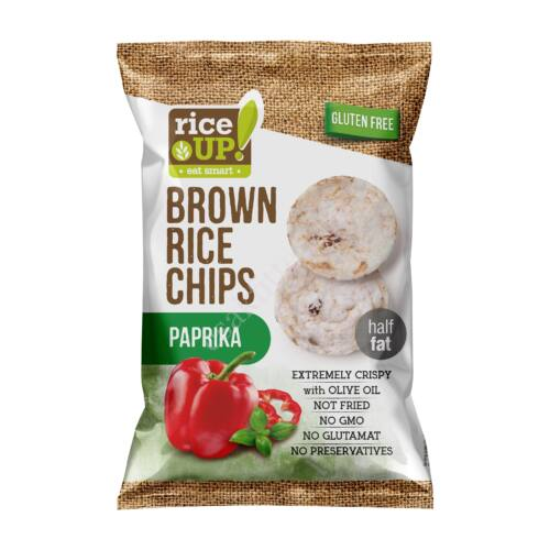 Rice Up paprikás rizs chips60 g