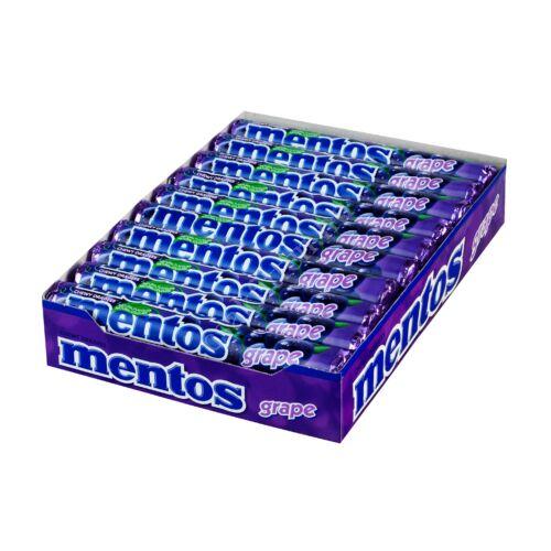 Mentos SZŐLŐ cukorka 37,5 g