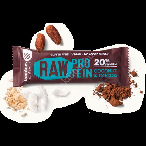 Bombus Protein kakaó és kókusz  50 g