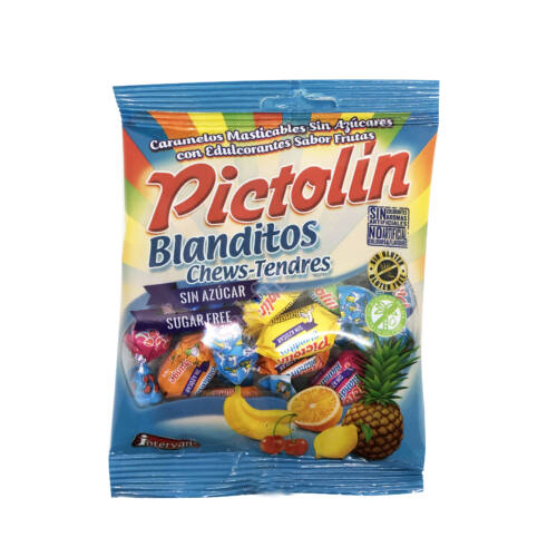 Pictolin cukormentes gyümölcsös puhakaramell56g