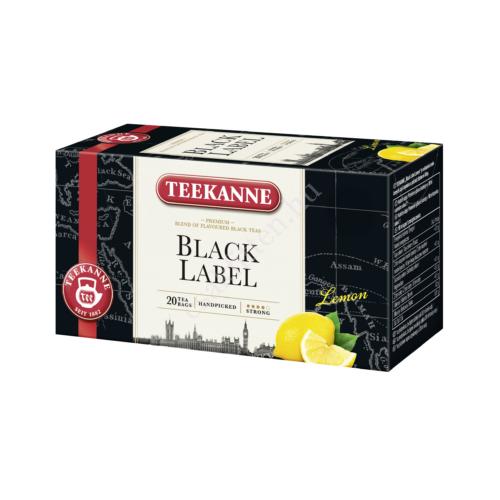 Black Classic fekete lemon tea33 g